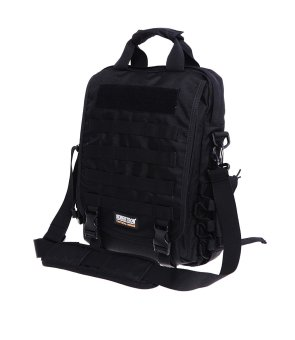 "Seibertron waterproof Molle Tactical 14""(inch) Laptop Sling BAGBackpack Black Price Philippines"