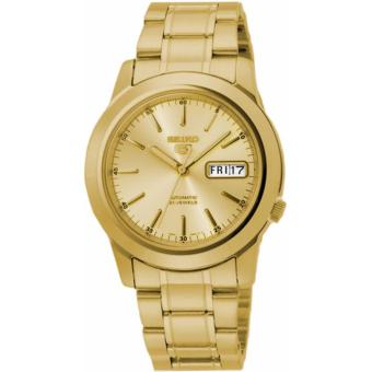 Seiko 5 Gold Toned Automatic Men's Watch SNKE56K1