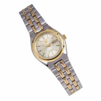 Seiko 5 Ladies Dual Tone Stainless Steel Automatic Watch SYM798 - 3