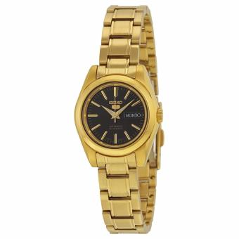 Seiko 5 Ladies Gold Tone Automatic Watch SYMK22