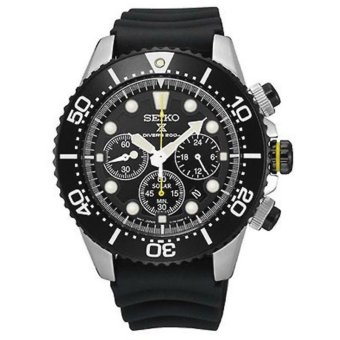 Seiko SSC021P1 Seiko Solar Chronograph Diver Watch - intl