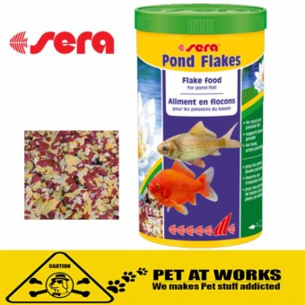 Sera Pond Flake Food (1000ml) For Pets Fish Food and all pond fish