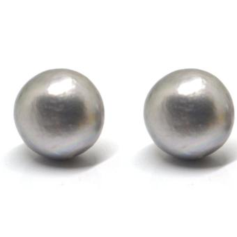 SH Jewels Real Freshwater Pearl 12mm earrings stud