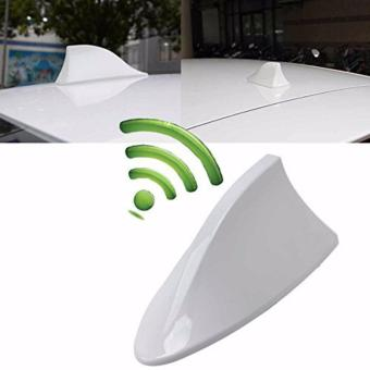 Shark Fin Car Antenna (White)
