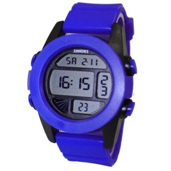 Shhors Max Aegean Blue Silicone Strap Watch MSS005