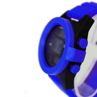 Shhors Max Aegean Blue Silicone Strap Watch MSS005 - picture 2