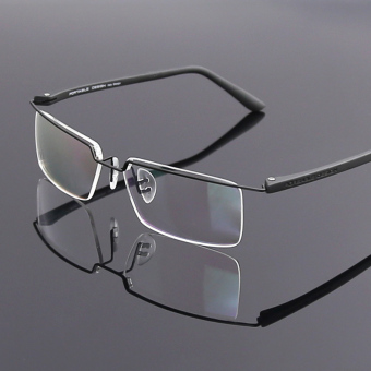 Shishang men's business color changing glasses frameless glasses