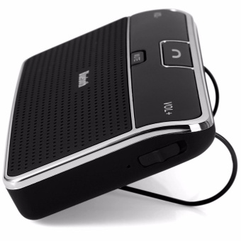 SHUNJIA Bluetooth Automobiles Sun Visor Speaker In-Car SpeakerphoneQuality Handsfree Car Kit with DSP Car Kit HD Music Play - intl - 3