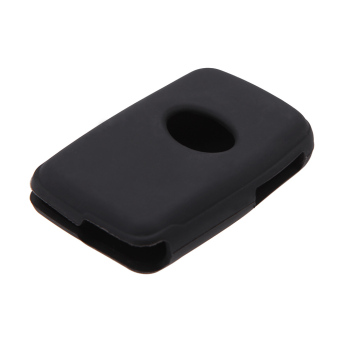 Silicone Skin Car Remote Fob Shell Key Holder Case Cover for ToyotaLand Cruiser Prado(2010) 3 Buttons. - 3
