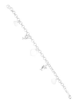 Silver First 925 Silver Ladies Bracelet H066