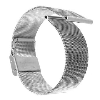 Silver Stainless Steel Watch Mesh Net Bracelets Straps Band 22mm - picture 2