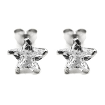 Silverworks E7158 Precious Star Zircon Stud Earrings Price Philippines