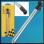 Silvery Car Tyre Tire Air Pressure Test Meter Gauge Pen Tool 50-350KPA 5-50 PSI