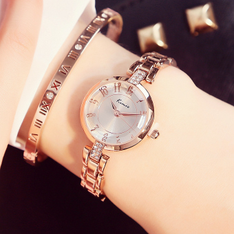 Simple girl's student fashion models women's watch quartz watch