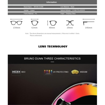 Sisyphus stone 2017 new men HD polarized unisex sunglasses for menwomen driving fishing sport glasses 9011 - intl - 5