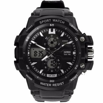 Skmei 0990 Men Sports Watches Skmei Brand Military Watch Casual LED Digital Watch Multifunctional Wristwatches 50M Waterproof Student Clock Price Philippines