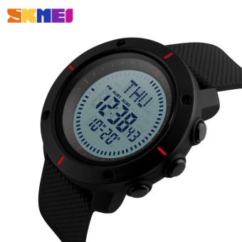 SKMEI 1216 Men's Countdown Sports Watches Digital LED Back Light Man Quartz Watch Military Alarm Waterproof Clock Fashion Outdoor Wristwatch - 3