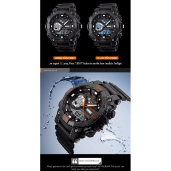 Skmei 1228 SKMEI Fashion Dial Outdoor Sports Watches Men Electronic Quartz Digital Watch 50M Waterproof Wristwatches Relogio Masculino 1228