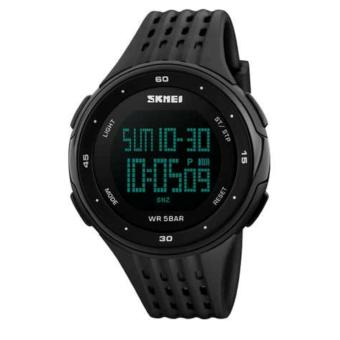 SKMEI Brand 1219 LED Digital Mens Military Watch Men Sports Watches 5ATM Swim Climbing Fashion Outdoor Casual Men Wristwatches