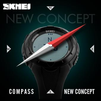 SKMEI Brand Men's Outdoor Sport Digital with Compass WaterproofWatch - intl Price Philippines