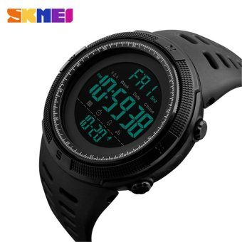 SKMEI Famous Waterproof Luminous Alarm Clock Calendar Men Sport Watches - intl