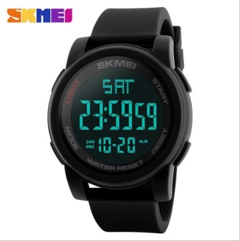 SKMEI Men Sports Watches Double Time Countdown Military Watch 50MWaterproof Digital Wristwatches Clock Relogio Masculino 1257 - intl