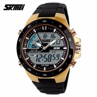 Skmei Men's Watch AD1016 (Yellow/Black)