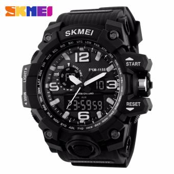 Skmei Silicone Strap Men's Watch AD1155 (Black) Price Philippines