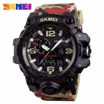 Skmei Silicone Strap Men's Watch AD1155 (Camo) Price Philippines