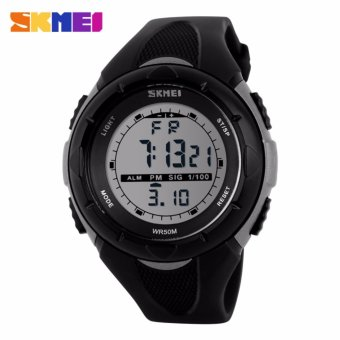 Skmei Silicone Strap Men's Watch DG1025 (Black) Price Philippines
