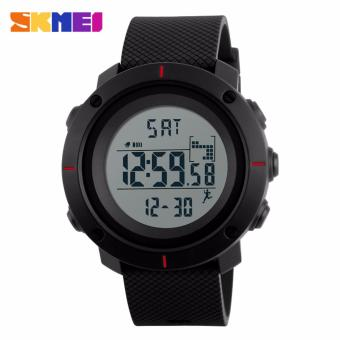 Skmei Silicone Strap Men's Watch DG1215 (Red) Price Philippines
