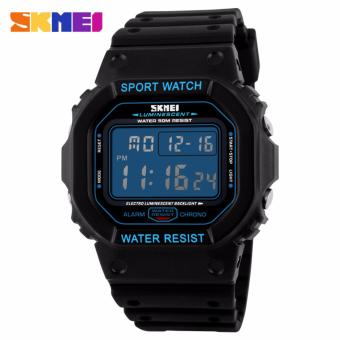 Skmei Silicone Strap Unisex Watch 1134 (Blue) Price Philippines