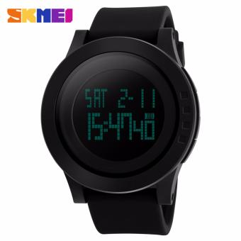 Skmei Silicone Strap Unisex Watch DG1142 (Black) Price Philippines