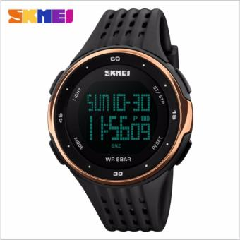 Skmei Silicone Strap Unisex Watch DG1219 (Rose Gold) Price Philippines
