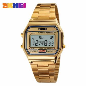 Skmei Stainless Steel Unisex Watch 1123 (Gold) Price Philippines
