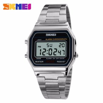 Skmei Stainless Steel Unisex Watch 1123 (Silver) Price Philippines