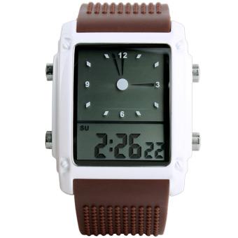 SKMEI Student Electronic Vintage Fashion Sport Watches (Brown)