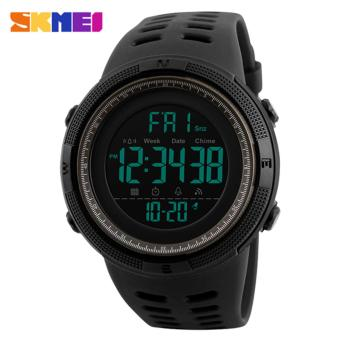 SKMEI Watch 1251 Famous Luxury Brand Mens Sport Watches Chrono Countdown Men Waterproof Digital Watch military Clock Fashion Relojes Hombre - intl