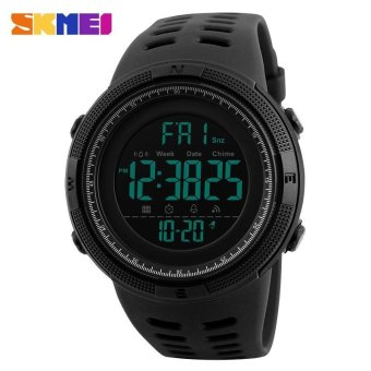 SKMEI Watch 1251 Famous Luxury Brand Mens Sport Watches ChronoCountdown Men Waterproof Digital Watch military Clock FashionRelojes Hombre - intl - 3