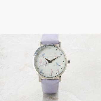 SM Accessories Girls Birls Analog Watch (Purple)