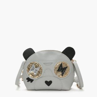 SM Accessories Girls Panda Sling Bag (Gray) Price Philippines