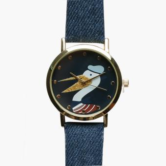 SM Accessories Girls Pelican and Ship Watch Set