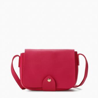 SM Accessories Girls Sling Bag (Pink)