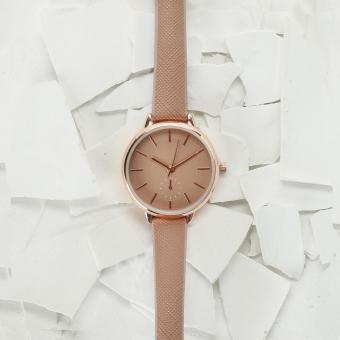 SM Accessories Ladies Analog Watch (Old Rose)
