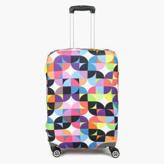 SM Stationery Patterned Large Luggage Cover