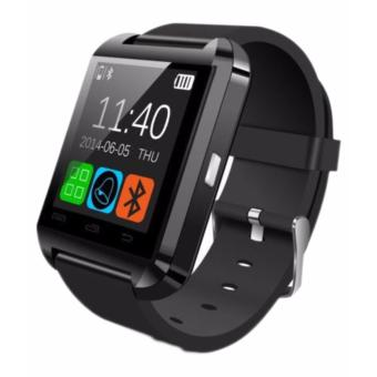 Smart Watch Bluetooth For Android and IOS With Sim Card Slot (BLACK)