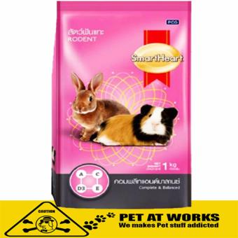 SmartHeart Food Complete & balanced Food (3kg) For HamsterFerret Guinea Pig Rabbit Food Price Philippines