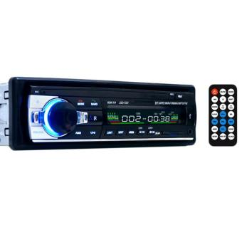 SOBUY Wireless Bluetooth Car Audio Stereo Single DIN 12V FM Receiver With Remote Control,In-Dash Car MP3 Player Support Aux Input TF Card USB
