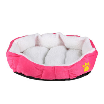 Soft Fleece Indoor Pet Dog Cat Puppy Warm Bed ComfortableHouseCushion