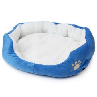 Soft Large Pet Bed Affinity Dogs Supplies (Blue) - intl Price Philippines